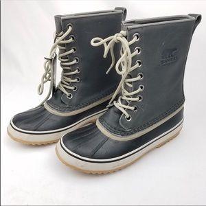 Sorel 1964 Premium Leather Snow Rain Boots Size 9